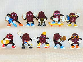Calrab Applause, California Raisins, PVC Figure - Set of Ten (10), 2