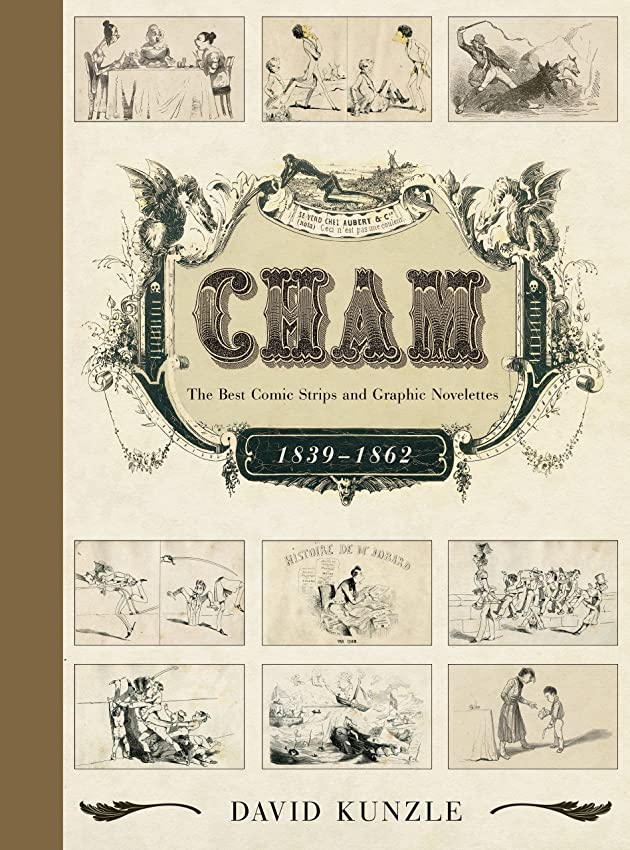 Cham: The Best Comic Strips and Graphic Novelettes, 1839–1862 (English Edition)