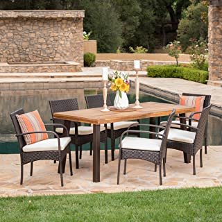 Best outdoor wicker dining table Reviews