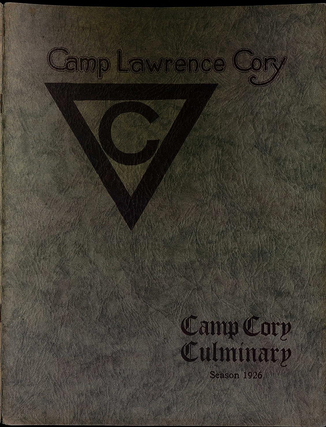 ラッチ間に合わせうつ1926 YMCA Camp Cory Culminary (YMCA Camp Cory Culminaries Book 6) (English Edition)