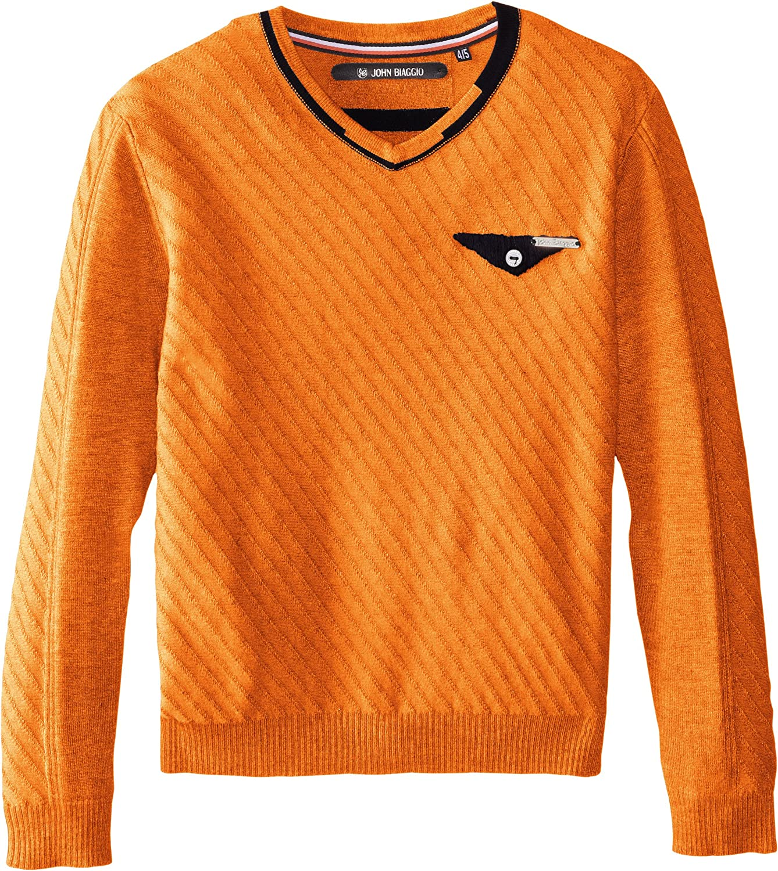 John Biaggio Little Boys' Little Boys V-Neck Cruiser Sweater