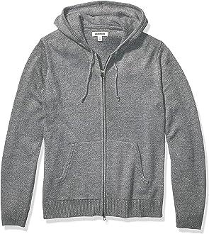 Keaac Men Basic Designed Long Sleeve Button Down Cardigan Sweater