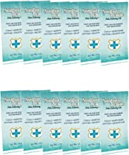 SUNBURN RESCUE Sunburn Relief Pain Relieving Gel, First Aid for Sunburn and Minor Burns, Cools and Soothes, Moisturizes and Relieves Pain, 12 Single Use Packets are Excellent for Travel