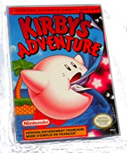 Kirby's Adventure Game - NES (Ninetendo Entertainment System) - Rare French Version