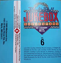 Rock 'N Roll Jukebox Superstars. VOLUME 6. (THIS IS A MUSIC CASSETTE TAPE)