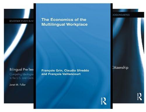 Routledge Studies in Sociolinguistics (36 Book Series)