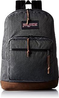 Jansport - Right Pack Digital Edition Student/Laptop Backpack, One Size, BLACK WHITE HERRINGBONE