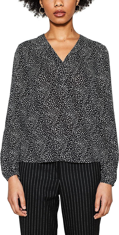 Esprit Women's Women's Long Sleeve Printed Top Viscose
