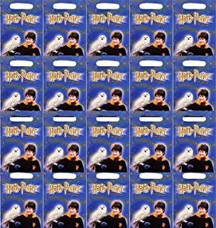 Harry Potter Party Supplies Wizard Birthday Favor Treat Bags for 24 Guests Bundle