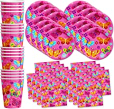 Best birthday party supplies butterfly Reviews