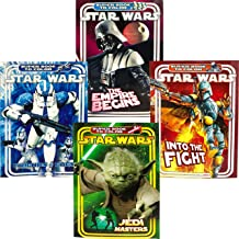 Star Wars Super Book to Color Coloring & Activity Books (4 Books)