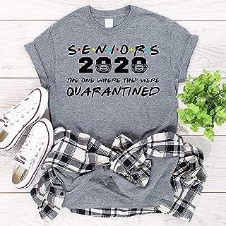 Seniors 2020 Shirt, Class of 2020, Friends Inspired, Senior 2020, Class of 2020, Quarantine Seniors, Graduation T-shirts, Tank Tops, Long-Sleeved T-Shirts,Hoodie
