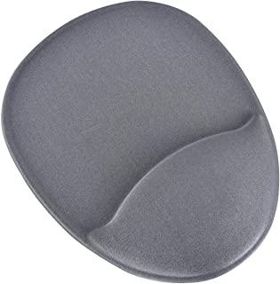 DAC 0240910 MP113 Super Gel Mouse PAD, Contoured Grey