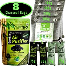 Eco Friendly Products Activated Charcoal Air Purifying Bag for Home Gym, Shoe Cabinet, Boxing Gloves, Car Air Freshener, Dehumidifiers for Basements, Shoe Deodorizer, Odor Eliminator for Home Cat Dog