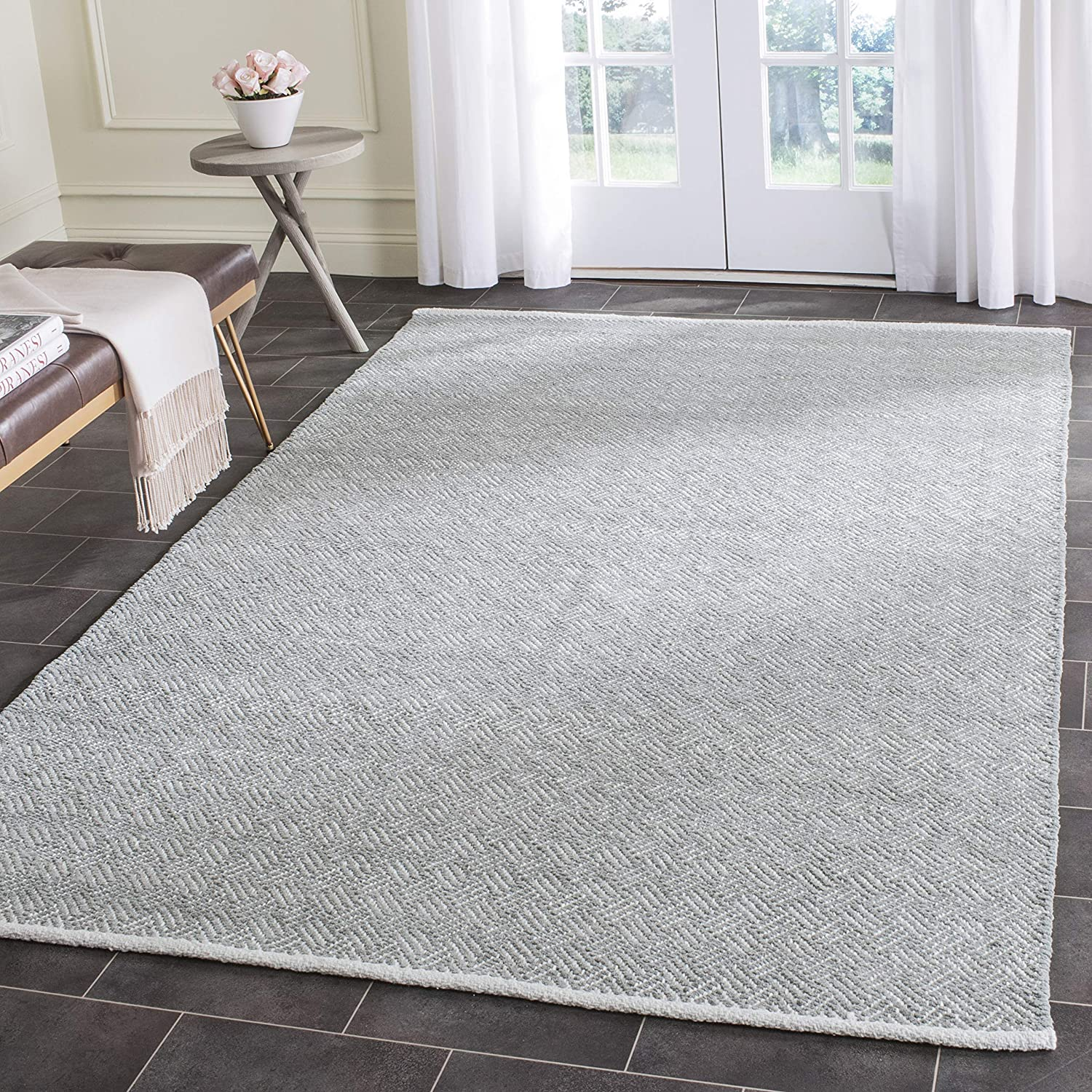 Safavieh Boston New product type Collection BOS680E Today's only Cotton Are Handmade Flatweave