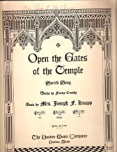 Best open the gates of the temple sheet music Reviews