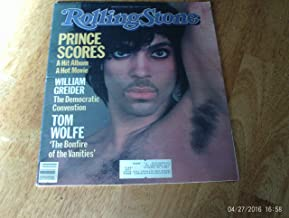 ROLLING STONE MAGAZINE----August 30 1984 Issue #429---PRINCE