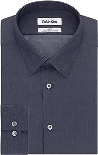 Men's Dress Shirt Slim Fit Non Iron Herringbone