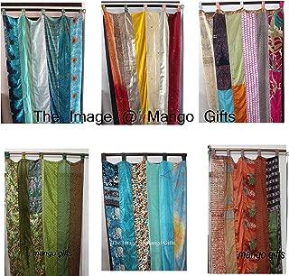 Best indian sari curtain panels Reviews