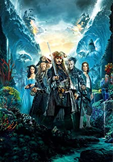 Pirates of the Caribbean: Dead Men Tell No Tales Movie Poster Limited Print Photo Johnny Depp Javier Bardem Size 24x36 #2