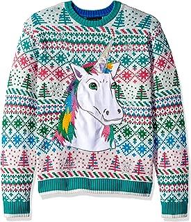 Men's Ugly Christmas Sweater Unicorn