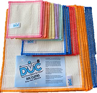 DOC Wood Fiber Cleaning Cloths Rags Super Variety Pack of 26