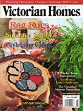 VICTORIAN HOMES August 1997 Magazine RAG RUGS Summer Quilts COLLECTING CHINA Lady's Bathroom WHOLE-HOUSE RESTORATION Tea Table at Hilary Farm DECORATING WITHA VICTORIAN VIEW Antiques CRAFTS
