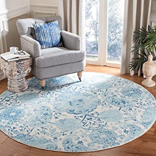 SAFAVIEH Madison Collection MAD600E Boho Chic Glam Paisley Non-Shedding Living Room Dining Bedroom Foyer Area Rug 3' x 3' ...