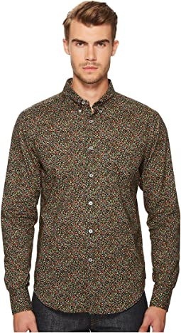 Naked & Famous - Matte Flowers Print Shirt