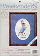 Weekenders Peter Rabbit Counted Cross Stitch Kit