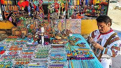 Shopping in Sayulita for unique Huichol handcrafts