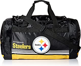 7d01035d027a Pittsburgh Steelers Medium Striped Core Duffle Bag