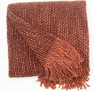 Perfect Fit | Fringed Throw Perfect for the Couch or Chair, 40