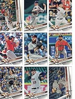 Houston Astros / Complete 2017 Topps Series 1 & 2 Baseball 23 Card Team Set! Includes 25 bonus Astros Cards!