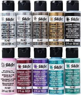 FolkArt PROMOFAGLT Extreme Glitter Paint Set, 2 oz