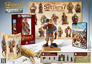 Settlers 7 : Path of a Kingdom : Collector's Edition (Windows & Macintosh DVD) Includes a 16cm tall figurine, an A2 format poster & Exclusive Unlockable Content
