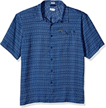 Columbia Men's Declination Trail II Short Sleeve Shirt, UV Protection, Active Fit