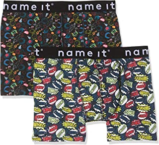NAME IT Bóxer (Pack de 2) para Niños