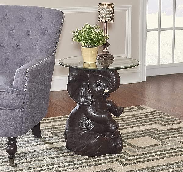 鲍威尔的家具 162001 厄尼大象深棕色口音表