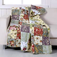 Greenland Home GL-THROWBP Blooming Prairie Throw
