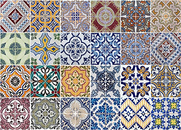 Crearreda CR 67202 Azulejos Kitchen Panel
