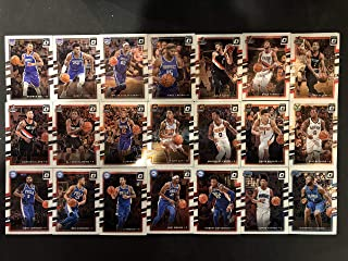 Includes cards of Giannis Antetokounmpo. Anthony Davis, Ben Simmons, Carmelo Anthony, Damian Lillard, Dwyane Wade, James Harden Karl-Anthony Towns, Kevin Durant, Kristaps Por 2017-18 Panini Ascension Basketball Complete Hand Collated Set of 100 Base Cards