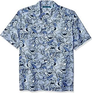 Men's Camp Collar Printed Shirt