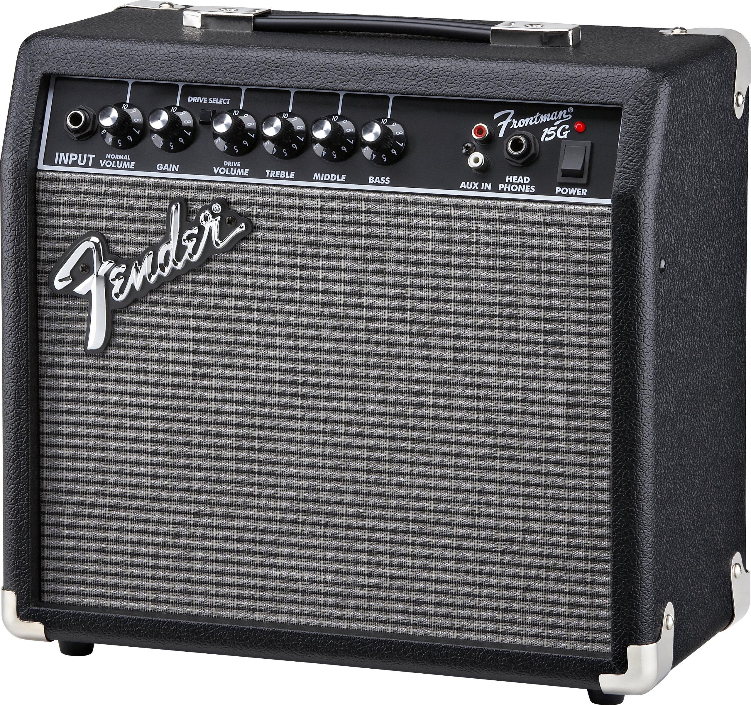 Amplificador de guitarra eléctrica Fender Frontman 15 G: Amazon.es ...