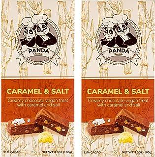 Panda Chocolate 2-Pack Creamy Dairy Free Milk Chocolate Bar | 100% Lactose & Guilt Free, Healthy Snacks for Vegans, 3.5oz ...