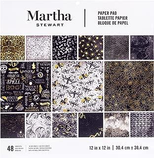 Martha Stewart 12 x 12 Paper Pad Halloween Elegant