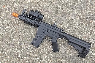 2012 cqb 320-fps Airsoft Rifle m16/m4 Style red dot Version 1 1 Double Eagle cqb 614 aeg Full auto Rifle Electric Airsoft Gun Airsoft Rifle Gun Assault Rifle Gun(Airsoft Gun)