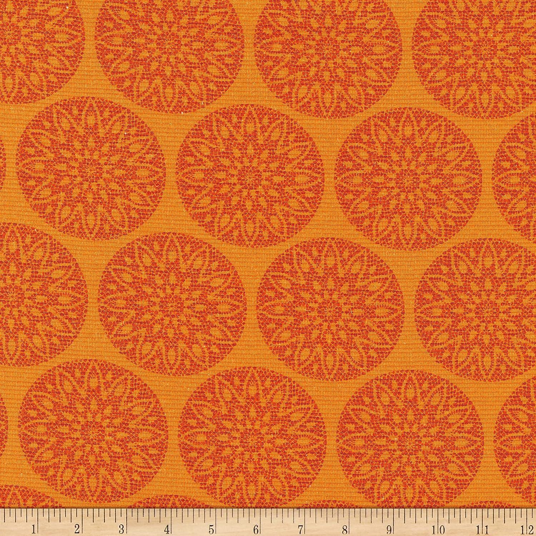 Michael Miller Culture Club Floral Folk Art Fabric, Apricot