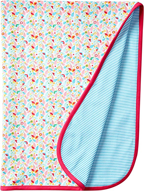 Zutano Baby Girls Piccolina Blanket White One Size