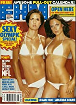 Fhm, for Him Magazine,sexy Olympic Special, Logan Tom, Amanda Beard, Halley Cope, Jenny Adams, Amy Acuff, September 2004